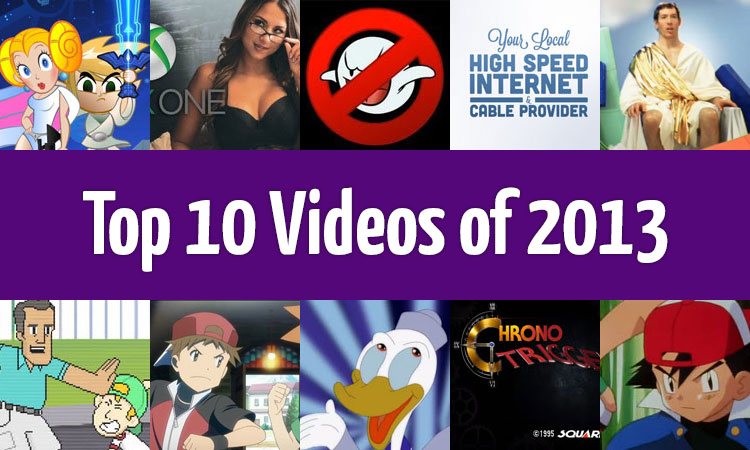 Top 10 Videos of 2013