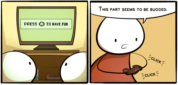 Video Game Extra Panels