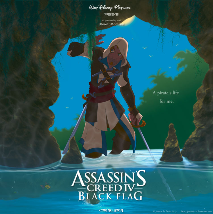 Walt Disney's Assassins Creed IV - Black Flag