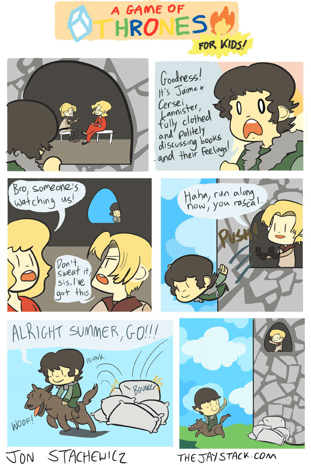 A Game of Thrones for Kids!