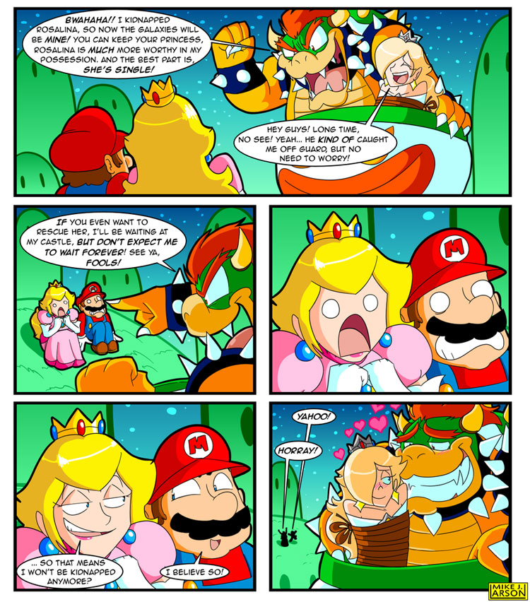 Check Out the Big Brain on Bowser!