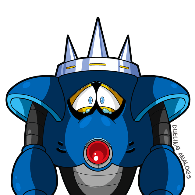 Needle Man - Mega Man III