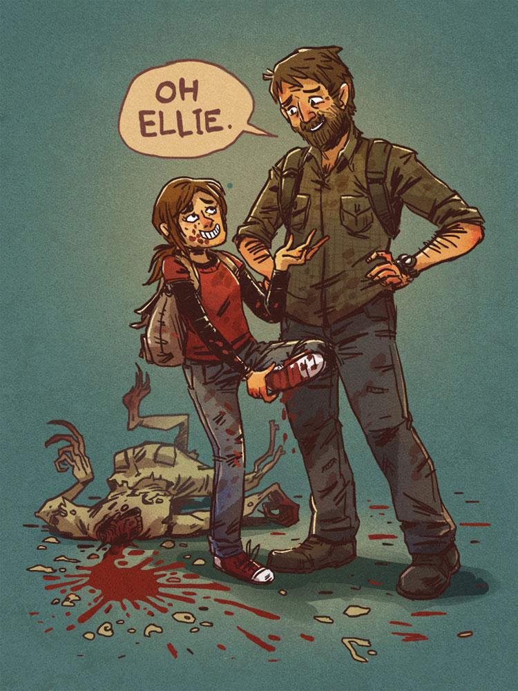 Oh, Ellie...