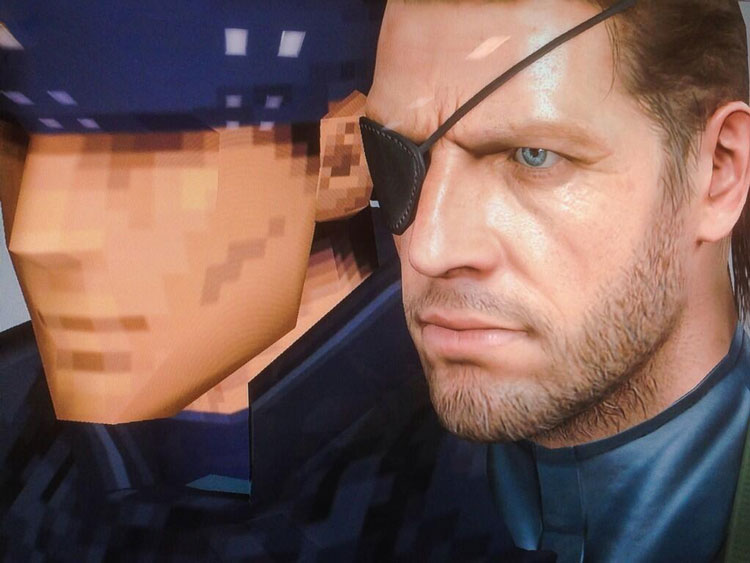 Solid Snake: Then and Now