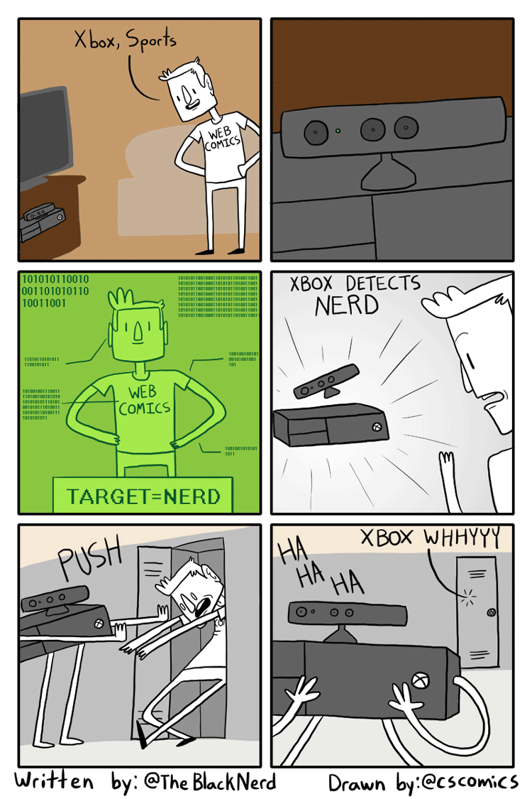 Kinect Detects