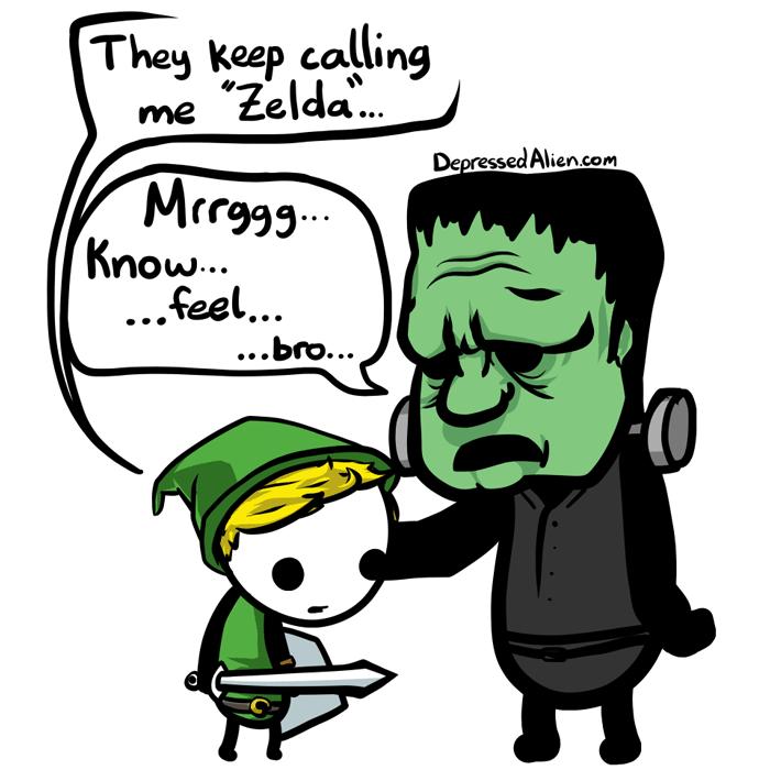 Zelda is the Girl