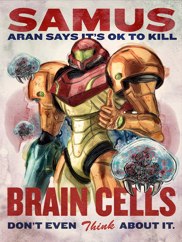 Samus Aran Say It's Okay