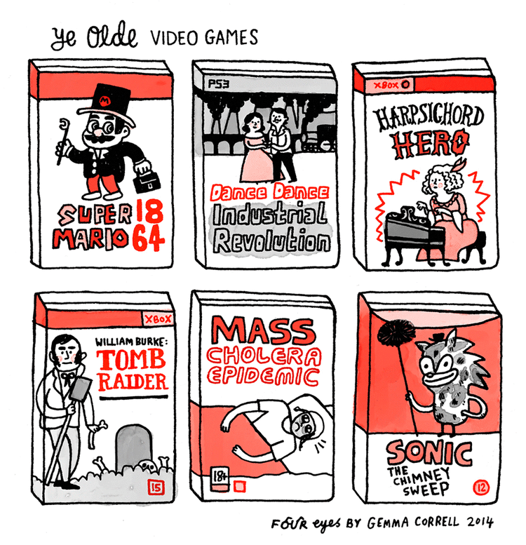 Ye Olde Video Games
