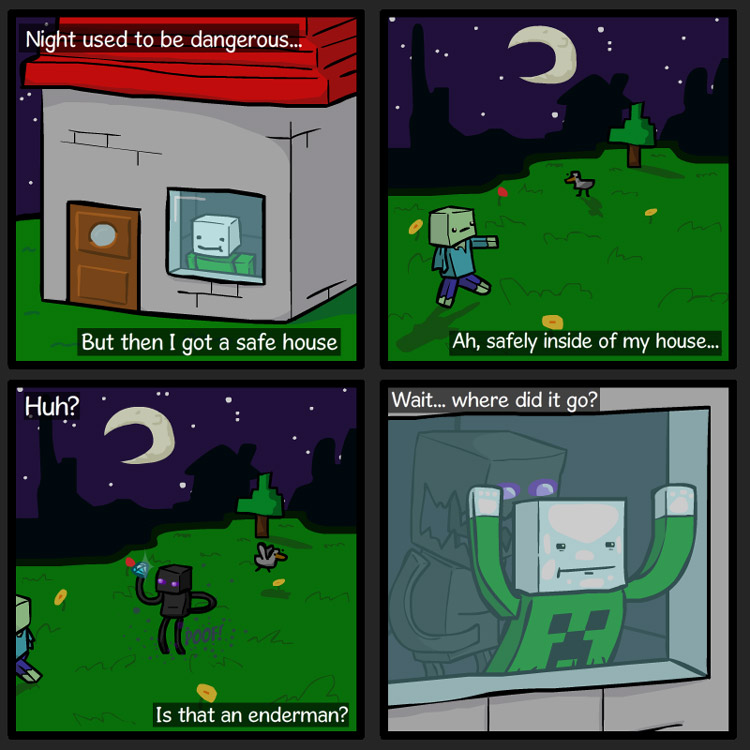 A Minecraft Nightmare