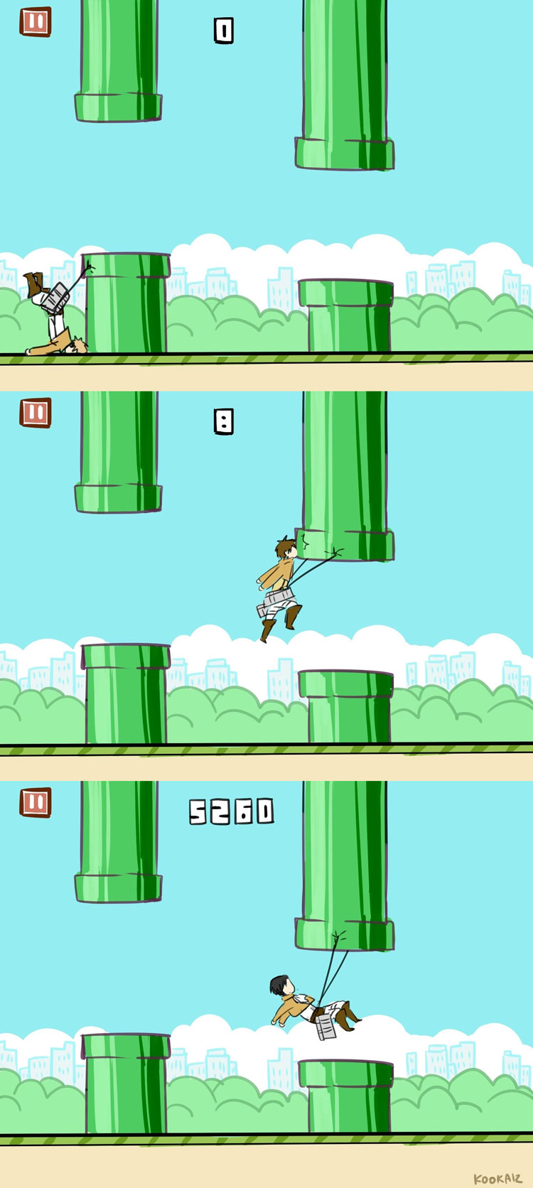 Attack on Flappy Bird