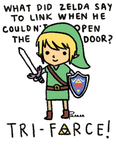 Do. Or Do Not. There is No Tri-Force...