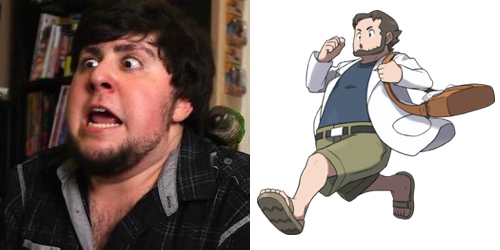 JonTron looks like Professor Birch
