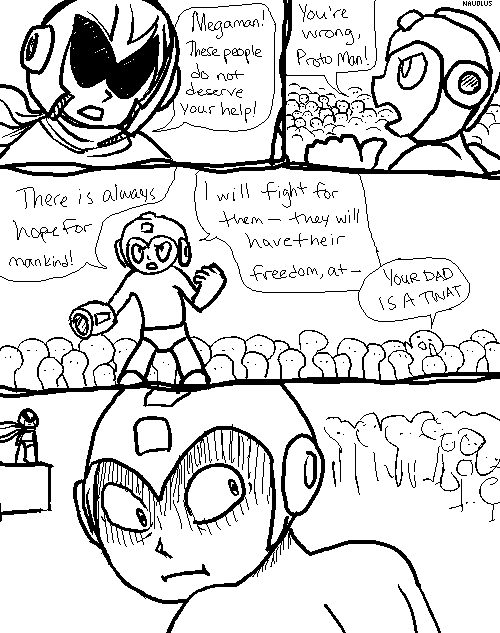 Mega Man's Monologue