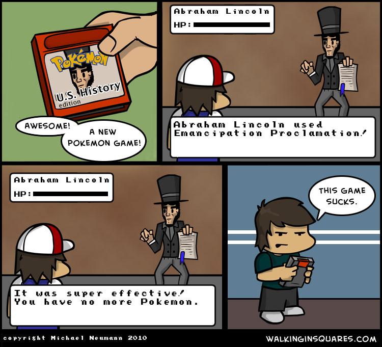 Pokémon - U.S. History Edition