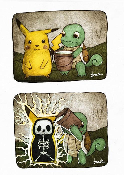 Pikachu Ice Bucket Challenge