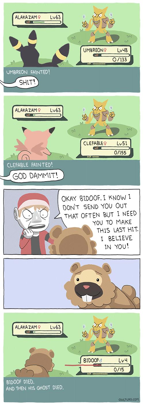 Bidoof to the Rescue