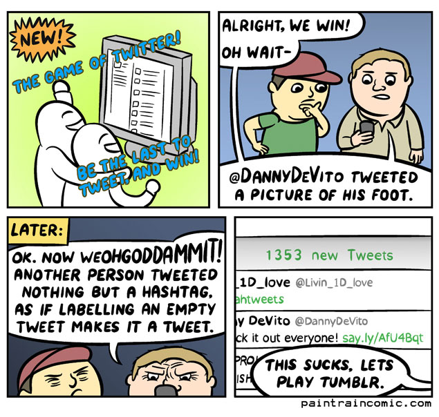 The Game of Twitter!