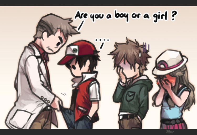 Are You a Boy or a Girl?