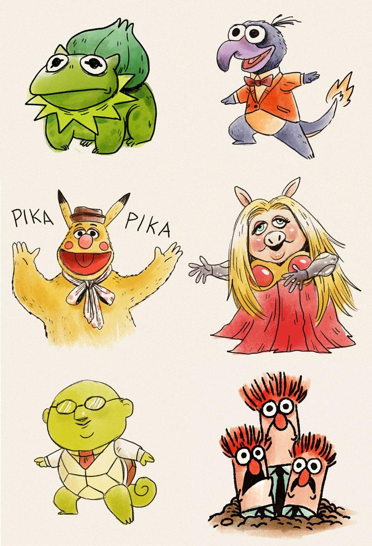 Pokémuppets