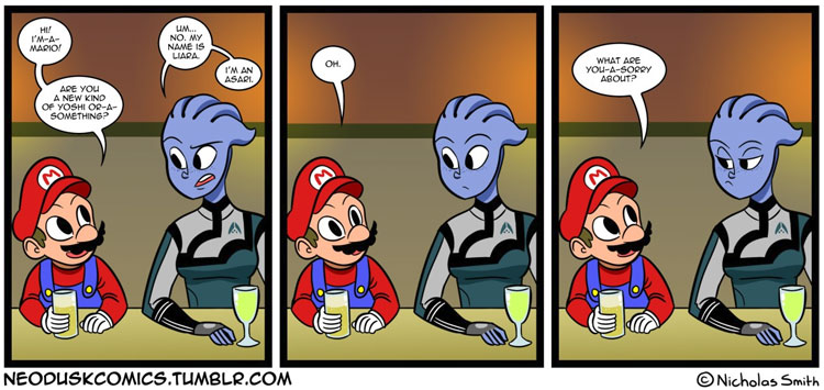 Meanwhile, at the Gamers Bar