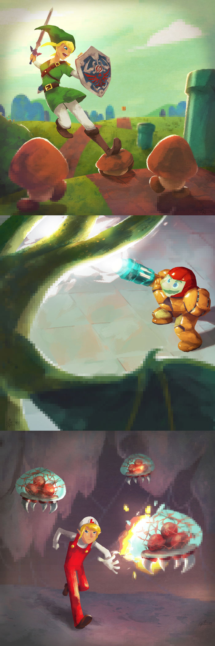 The Legend of Metroid Bros.