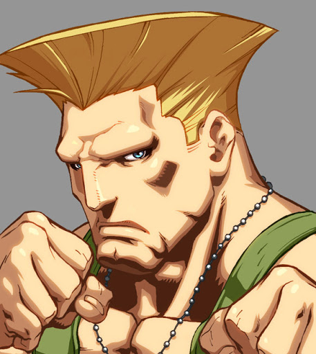 Guile has no Eyebrows