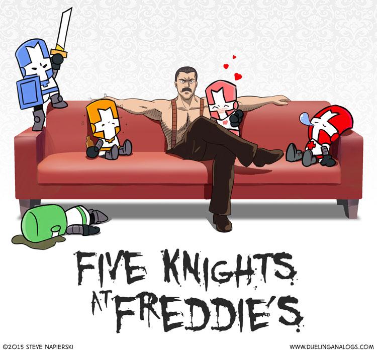 Five Knights at Freddie's