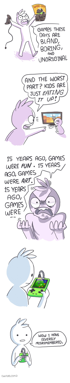15 Years Ago, Games Were Fun...