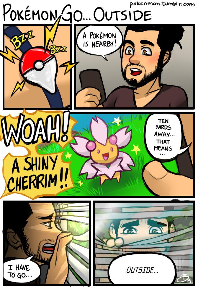 Pokémon GO...Outside