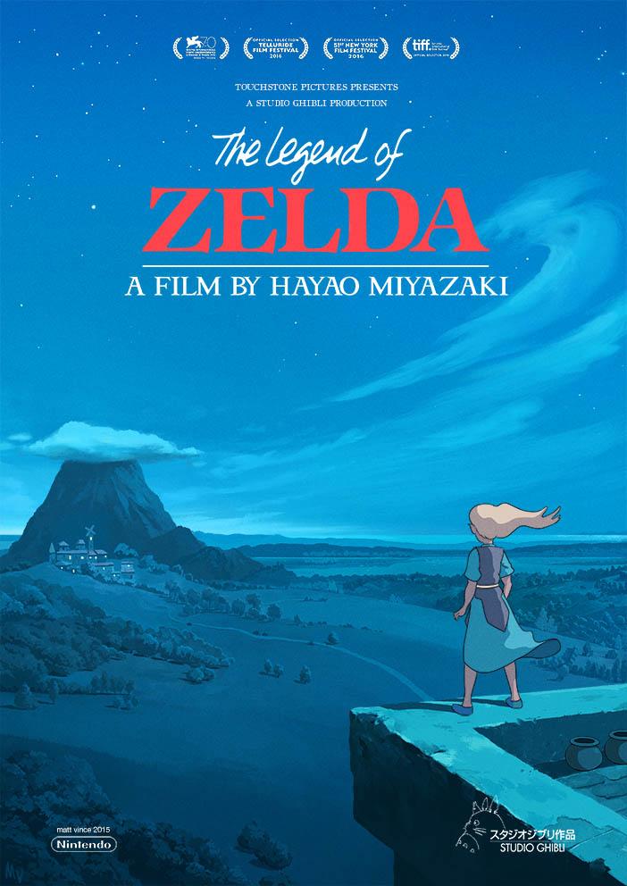 The Legend of Zelda: A Film by Hayao Miyazaki - A Video ...