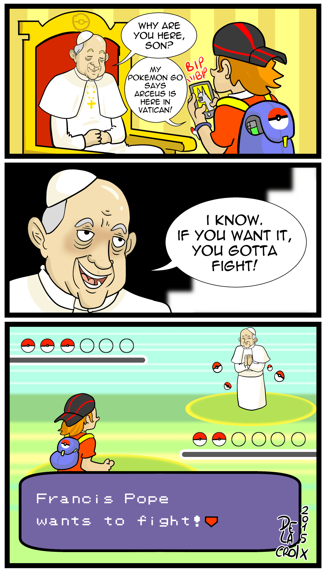 The Power of Pokémon Compels You!