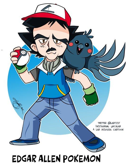 Edgar Allen Pokémon