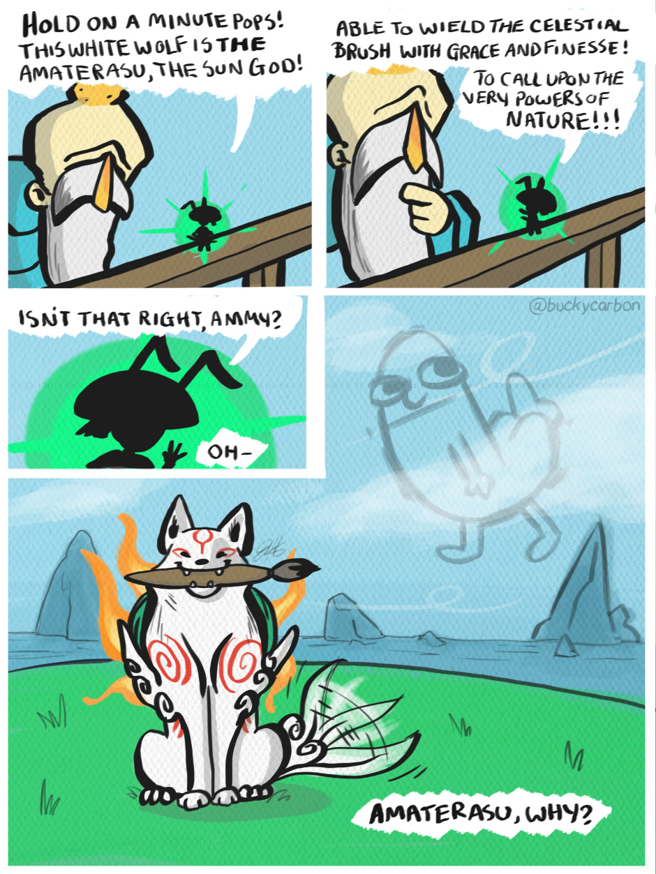 Why Amaterasu Why?