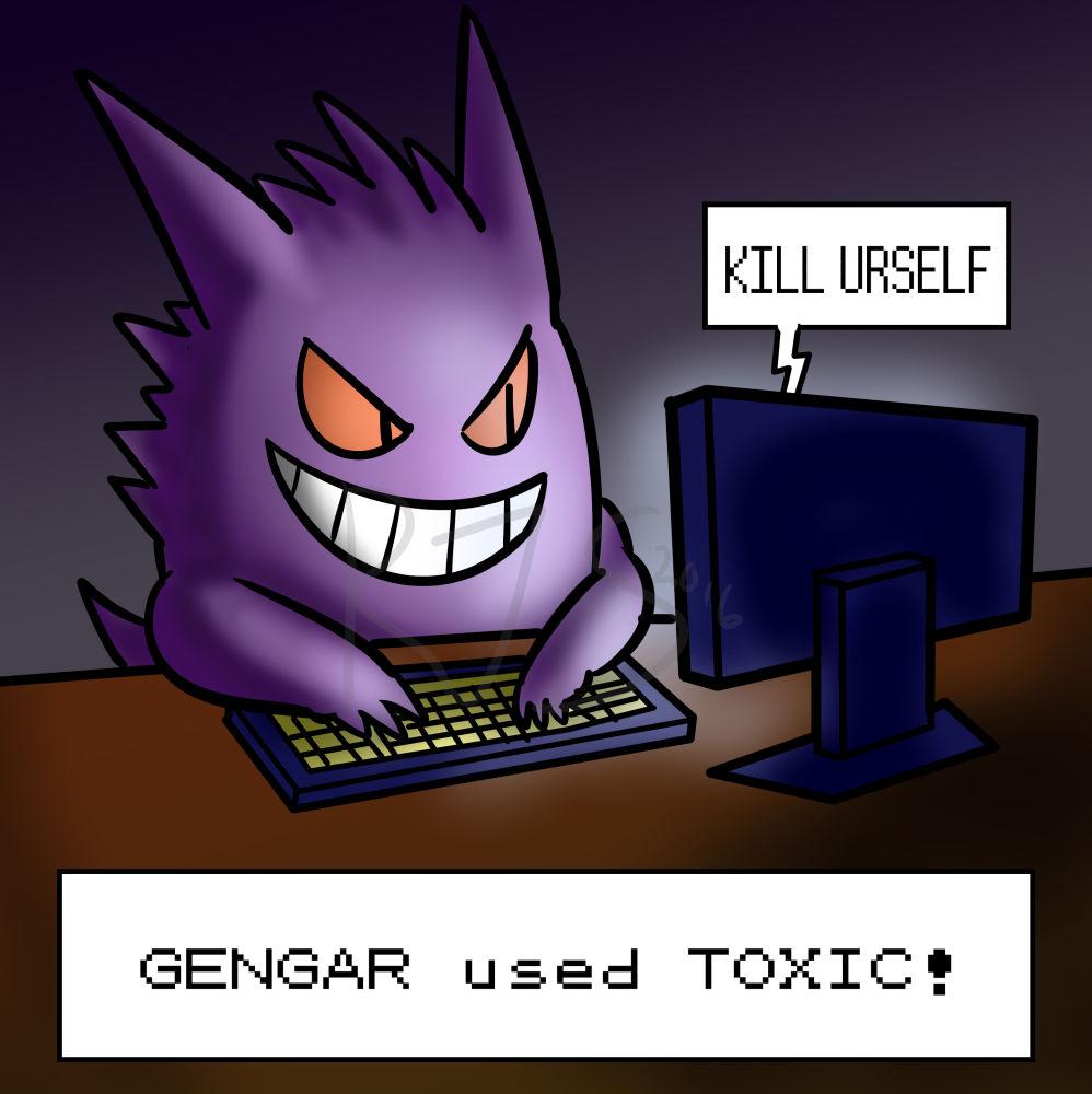Gengar used TOXIC!