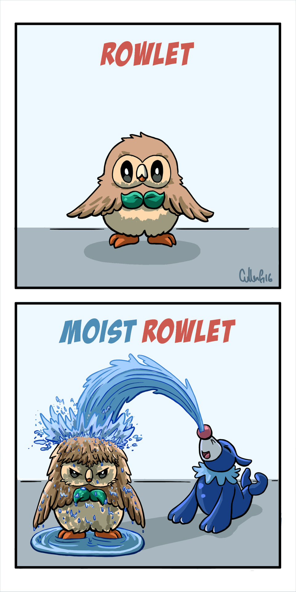 Rowlet A Video Games Comic Dueling Analogs