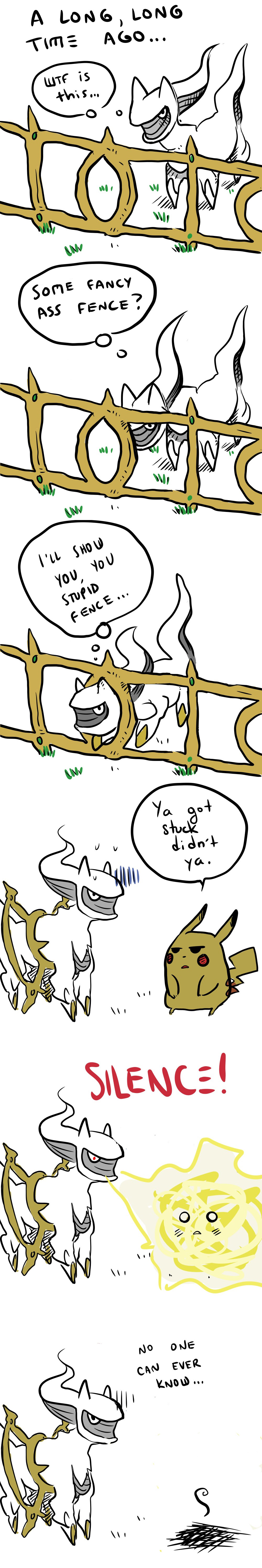 Arceus' Legendary Origin Story
