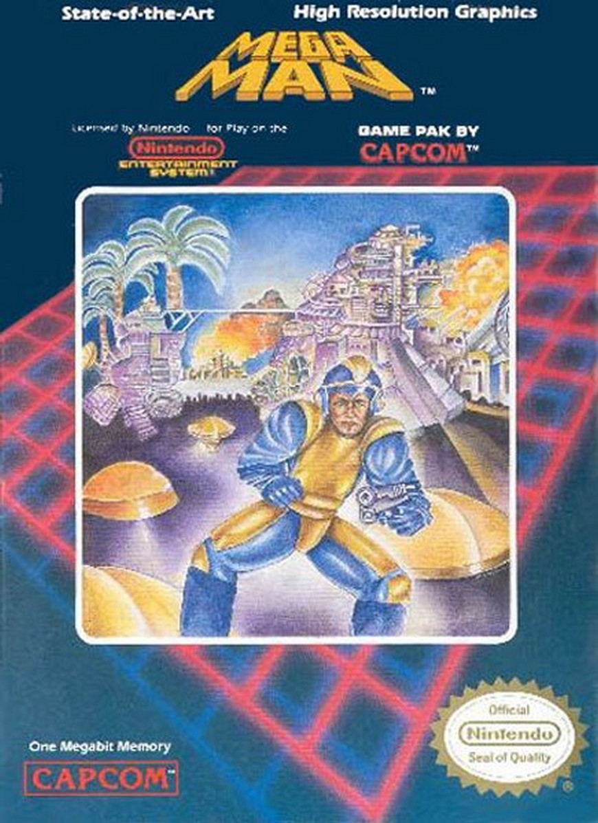Mega Man (NES) - Bad Box Art