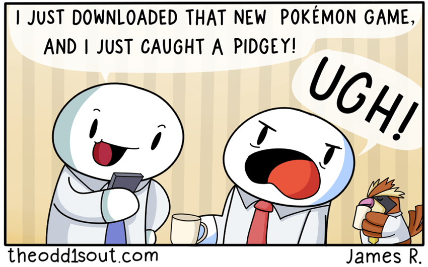 For the Love of Pidgey... #2