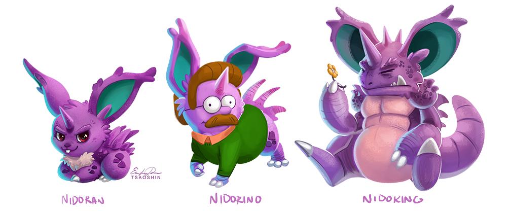 From Nidoran♂ to Nidoking