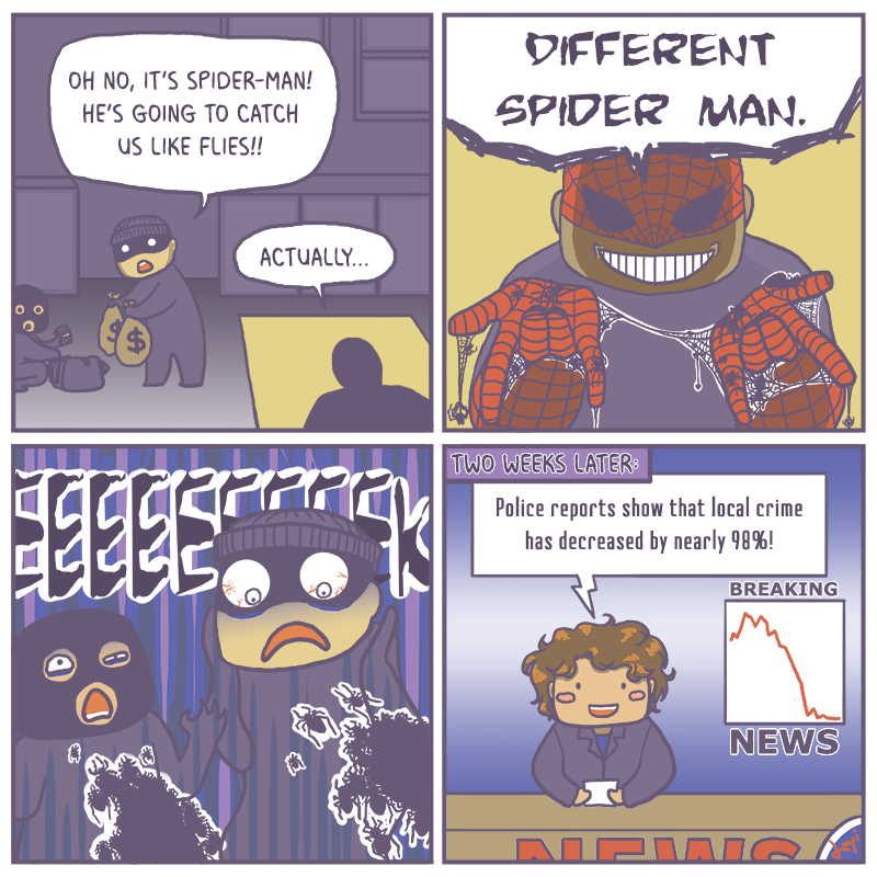 Different Spider-man