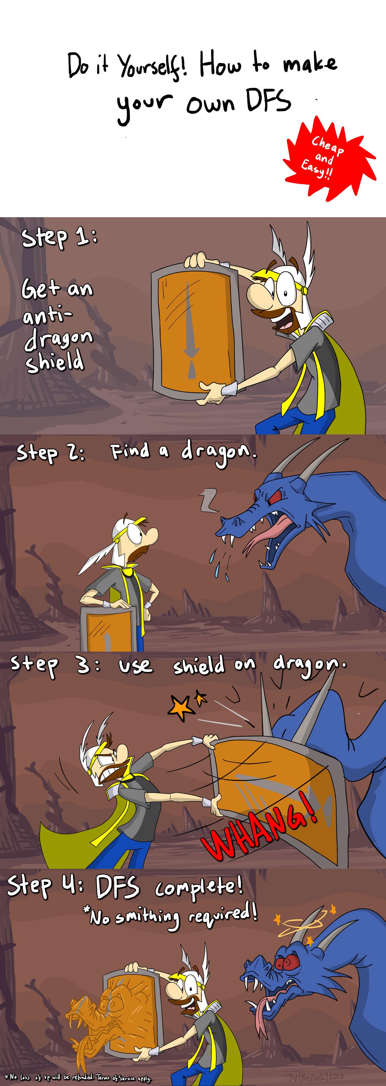 Do it yourself dragonfire shield a video games comic dueling analogs do it yourself dragonfire shield solutioingenieria Choice Image