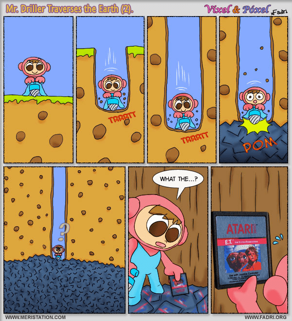 Mr. Driller Traverses the Earth