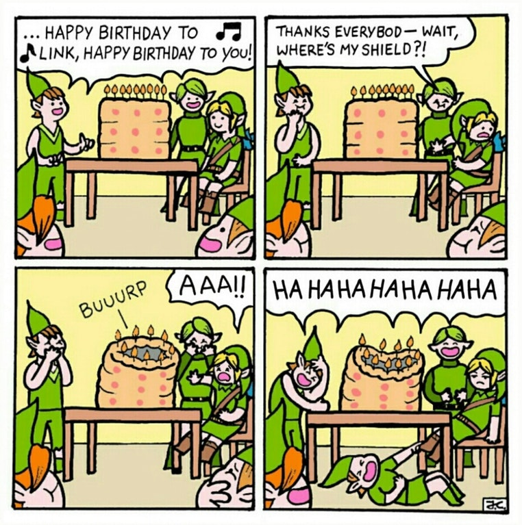 Happy Birthday, Link!!!