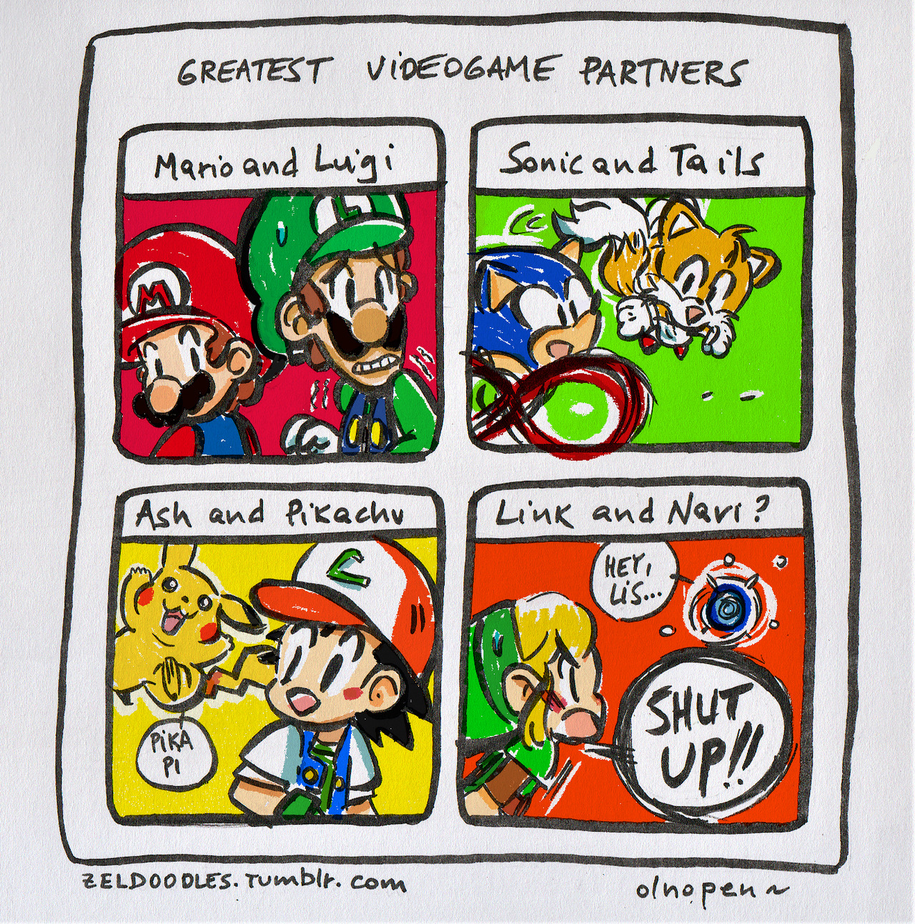 Greatest Video Game Partners